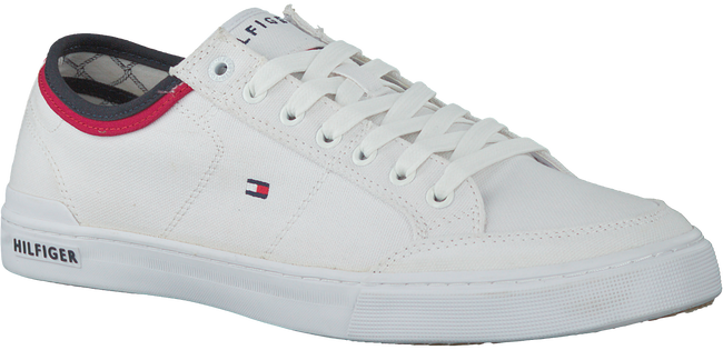 Weiße TOMMY HILFIGER Sneaker CORE CORPORATE TEXTILE SNEAKER - large