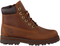 Cognacfarbene TIMBERLAND Schnürboots COURMA KID TRADITIONAL 6 INCH  - medium