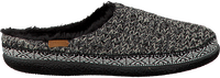 Schwarze TOMS Hausschuhe IVY - medium