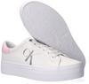 Weiße CALVIN KLEIN Sneaker low VULCANIZED FLATFORM LACEUP  - small