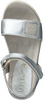 Silberne UNISA Sandalen PUREZA - small