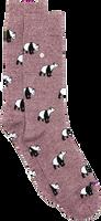 Rote Alfredo Gonzales Socken PANDA  - medium