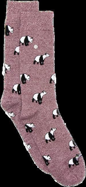 Rote Alfredo Gonzales Socken PANDA  - large