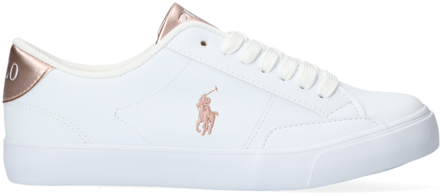 Weiße POLO RALPH LAUREN Sneaker low THERON IV  - large