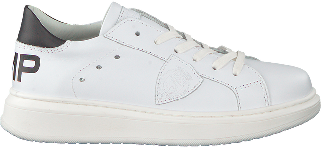 Weiße PHILIPPE MODEL Sneaker GRANVILLE PMP VEAU  - large