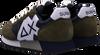 Grüne SUN68 Sneaker low JAKI BICOLOR  - small