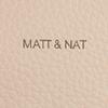Beige MATT & NAT Umhängetasche SAM CROSSBODY  - small