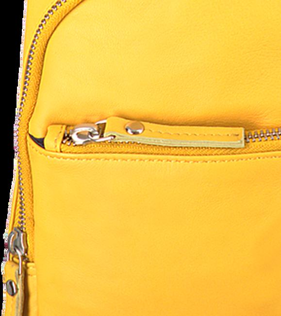 Gelbe EST'SEVEN Umhängetasche EST' LEATHER BAG MIREL  - large