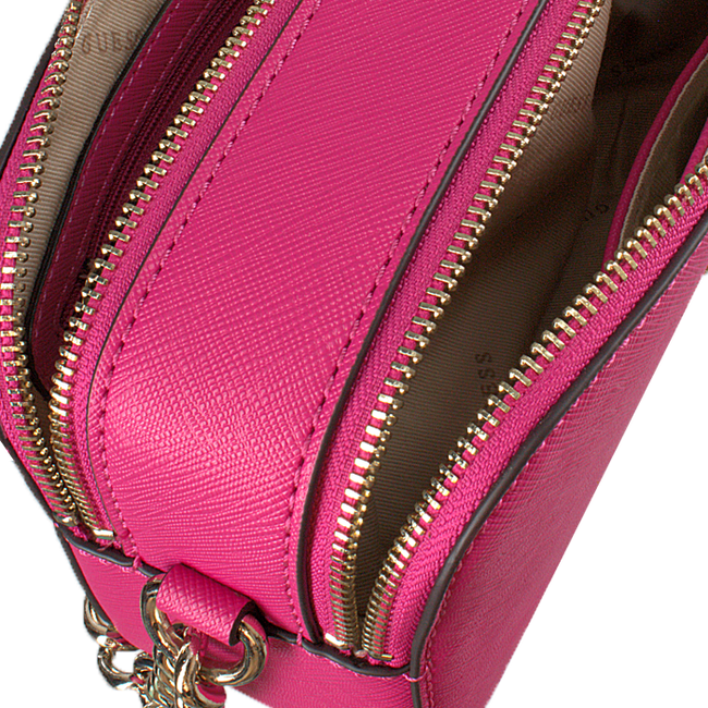Rote GUESS Umhängetasche ROBYN CROSSBODY CAMERA  - large