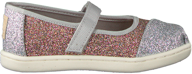 Silberne TOMS Ballerinas MARY JANE  - large