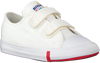 Weiße CONVERSE Sneaker low CHUCK TAYLOR ALL STAR 2V OX KI  - small