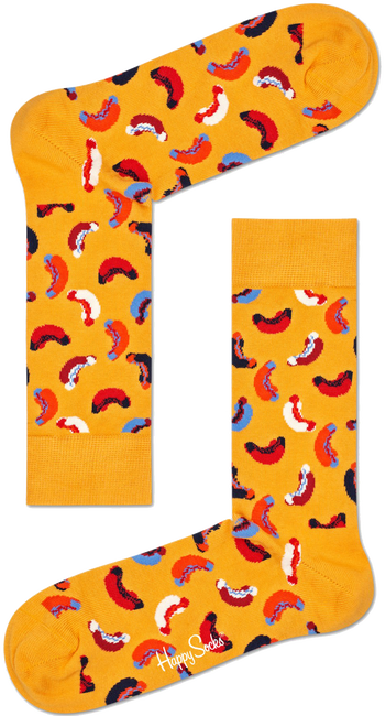 HAPPY SOCKS Socken HOTDOG - large