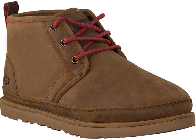 Braune UGG Ankle Boots NEUMEL WATERPROOF  - large