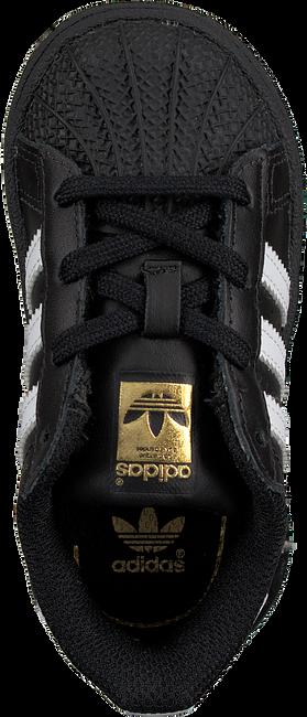 Schwarze ADIDAS Sneaker SUPERSTAR KIDS 1 - large