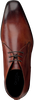 Cognacfarbene OMODA Schnürschuhe 3410 - small
