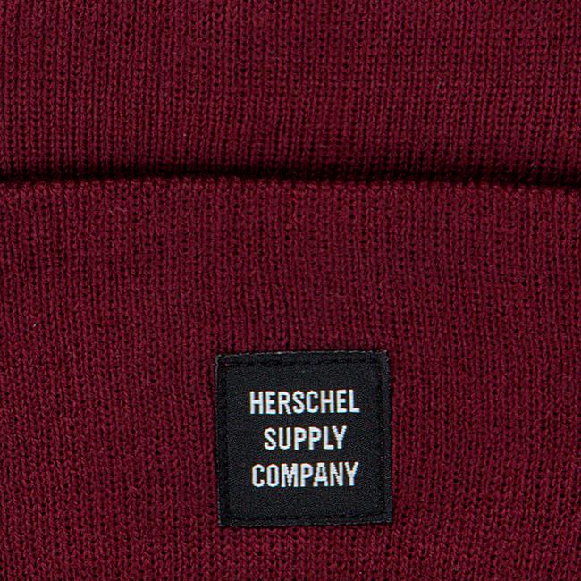 Rote HERSCHEL Mütze ABBOTT - large