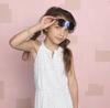 Blaue LE BIG Sonnenbrille SALVIA SUNGLASSES  - small