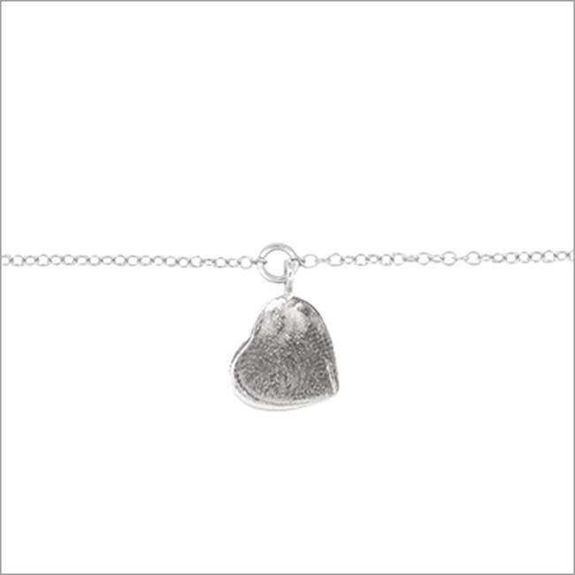 Silberne ALLTHELUCKINTHEWORLD Armband FORTUNE BRACELET HEART - large