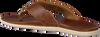 Cognacfarbene OLUKAI Pantolette NALUKAI SANDAL  - small