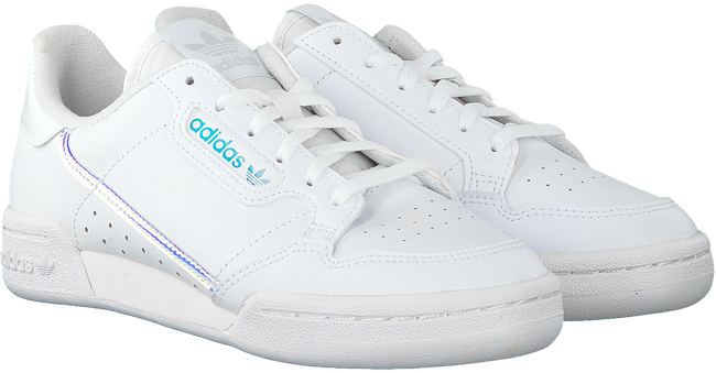 Weiße ADIDAS Sneaker CONTINENTAL 80 J  - large