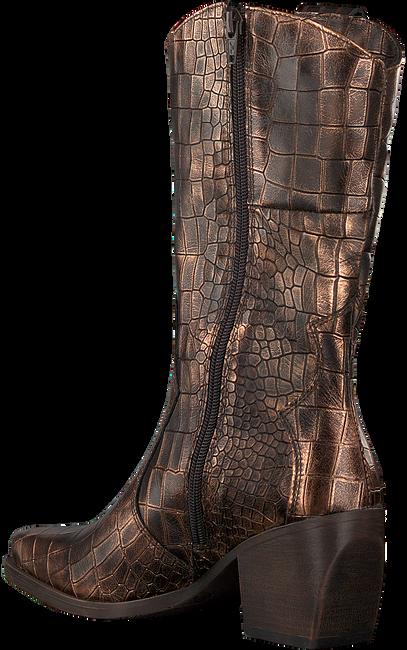 Bronzefarbene VERTON Hohe Stiefel 687-007  - large