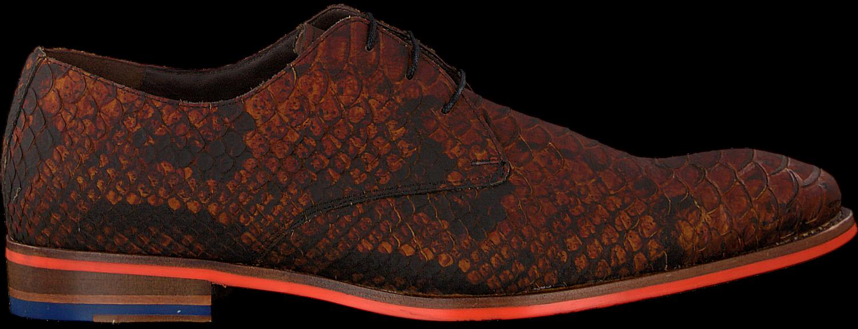 Cognacfarbene FLORIS VAN BOMMEL Business Schuhe 18077 Omoda