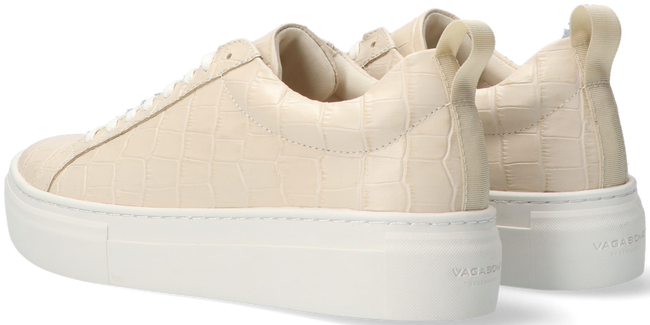 Beige VAGABOND Sneaker low ZOE PLATFORM  - large
