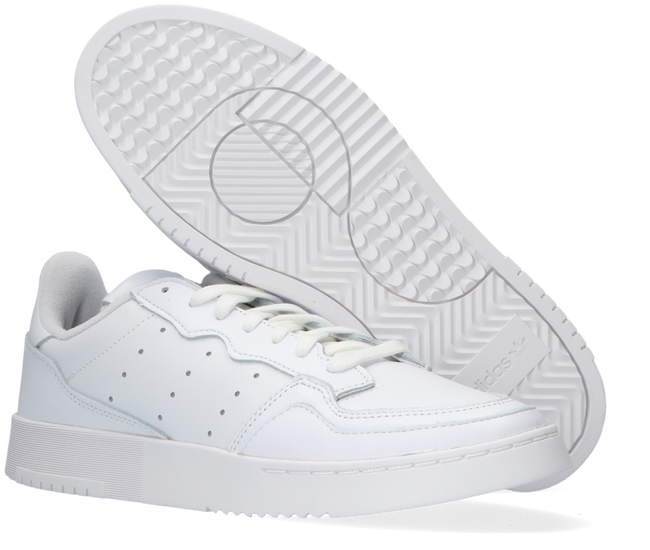 Weiße ADIDAS Sneaker low SUPERCOURT  - large