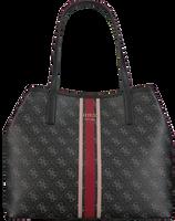Schwarze GUESS Handtasche VIKKY TOTE  - medium
