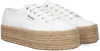 Weiße SUPERGA Sneaker low 2790 ROPE  - small