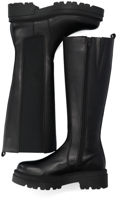 Schwarze PS POELMAN Hohe Stiefel R17646-L1184  - large