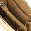 Beige HVISK Portemonnaie WALLET ZIPPER CROCO  - small
