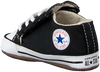 Schwarze CONVERSE Babyschuhe CRIBSTER CANVAS COLOR  - small