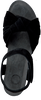 Schwarze CA'SHOTT Sandalen 23073  - small