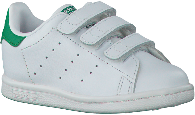 Weiße ADIDAS Sneaker STAN SMITH CF C - large