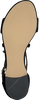 Schwarze NOTRE-V Sandalen 051-970  - small