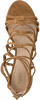 Cognacfarbene NOTRE-V Sandalen 45395  - small