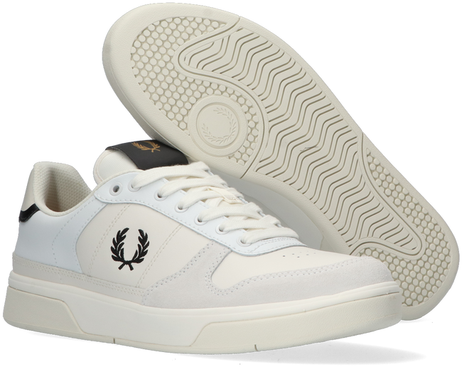 Weiße FRED PERRY Sneaker low B1260  - large