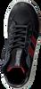 Schwarze SHOESME Schnürschuhe RF9W037  - small