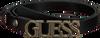 Schwarze GUESS Gürtel LIAS ADJUSTABLE PANT BELT  - small