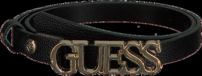 Schwarze GUESS Gürtel LIAS ADJUSTABLE PANT BELT  - large