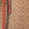 Beige COACH Handtasche CHARLIE CARRYALL  - small