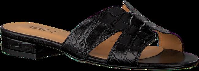 Schwarze NOTRE-V Pantolette 2213  - large
