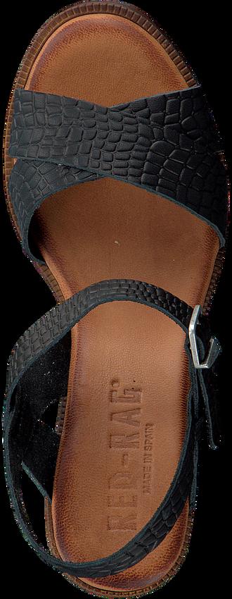 Schwarze RED-RAG Sandalen 79174  - larger