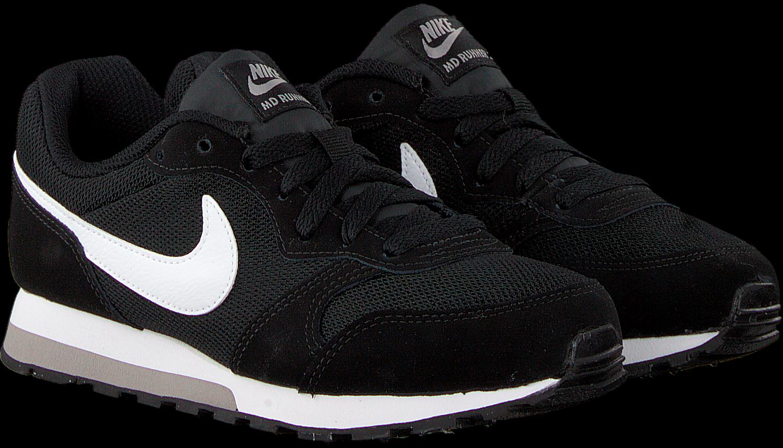 Schwarze NIKE Sneaker MD RUNNER 2 (GS)