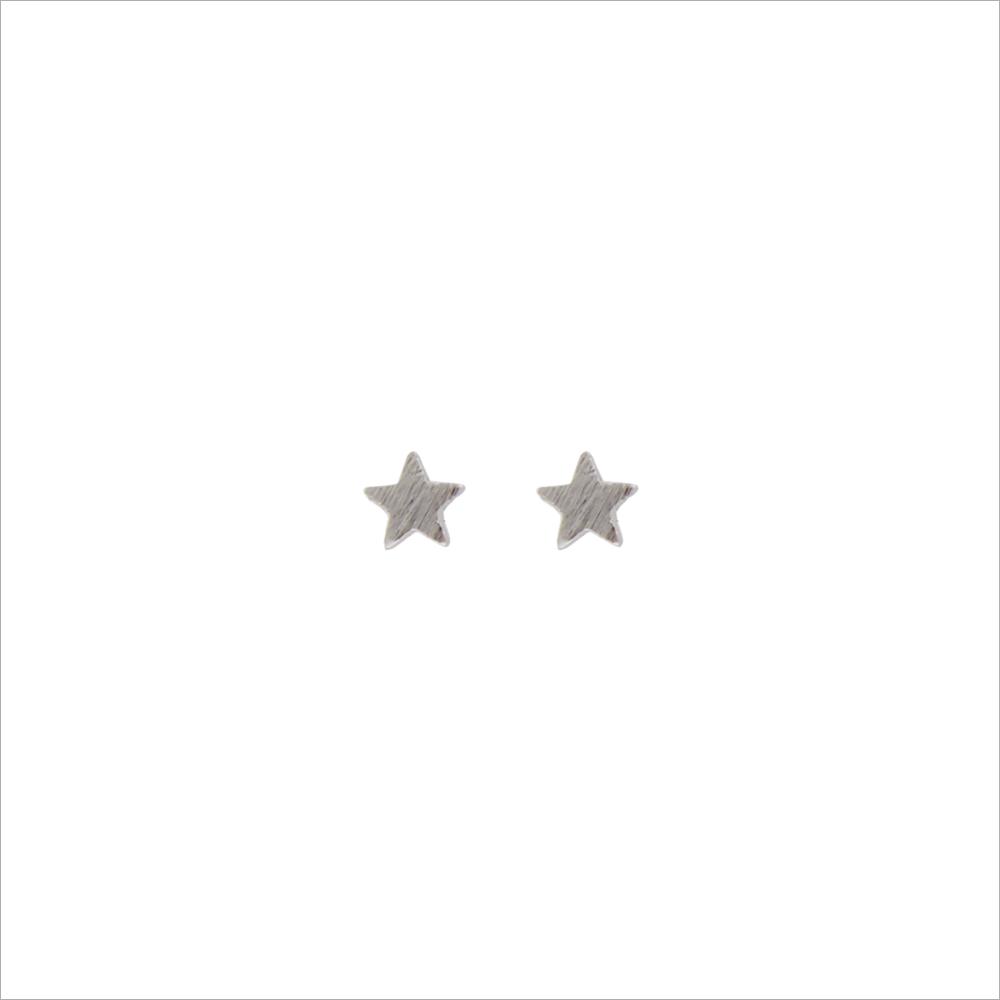 Silberne ALLTHELUCKINTHEWORLD Ohrringe PETITE EARRINGS STAR vFjv5