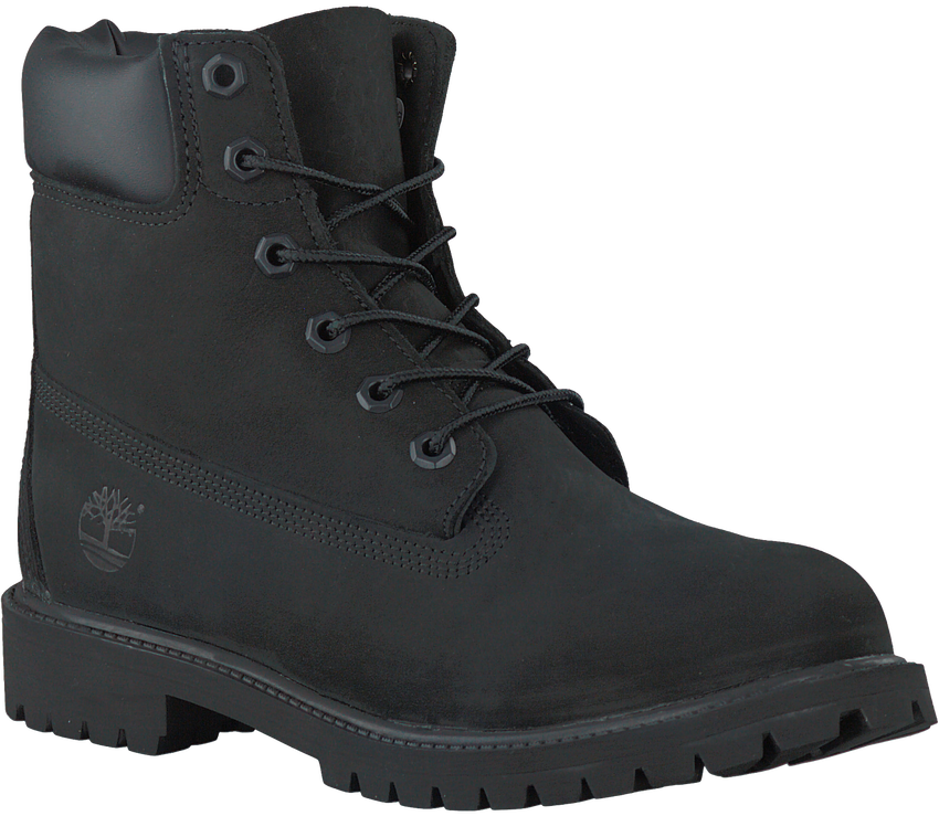 Schwarze TIMBERLAND Ankle Boots 6IN PRM WP BOOT KIDS - larger
