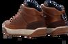 Cognacfarbene GAASTRA Sneaker high DENZEL MID TMB  - small