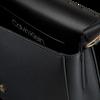 Schwarze CALVIN KLEIN Handtasche DRESSED UP SATCHEL  - small