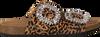 Schwarze TORAL Pantolette 10865  - small